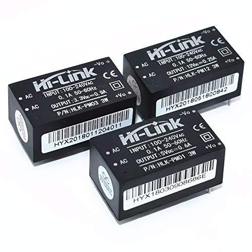 Amazon.com - HLK-PM03 AC/DC 220V to 3.3V Converter