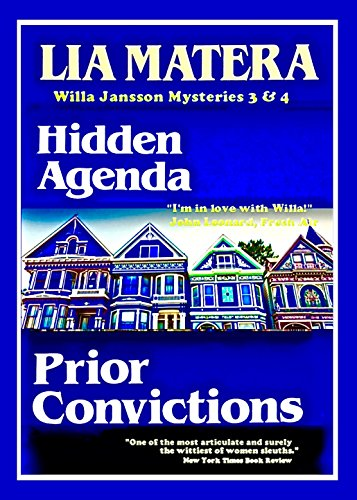 Hidden Agenda & Prior Convictions: Willa Jansson Mysteries 3 ...