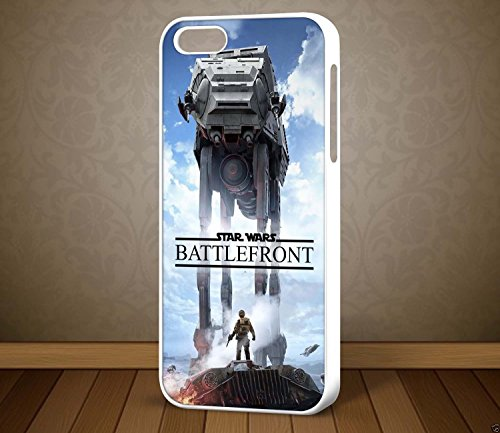 Star Wars Battlefront Walker Design 2 – pour iPhone et Samsung Téléphone cas (iPhone 6 Plus blanc)