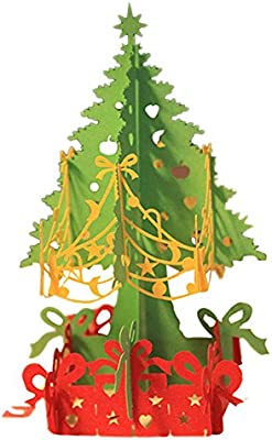 Espeedy 3D Merry Christmas Tree tarjetas de felicitación ...