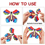 15 Pieces Magic Fairy Flying Butterfly Rubber Band
