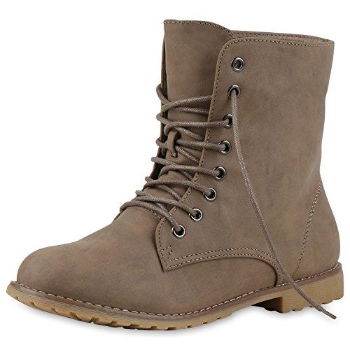 Best-boots - Botas para mujer Khaki Cachi Nuovo