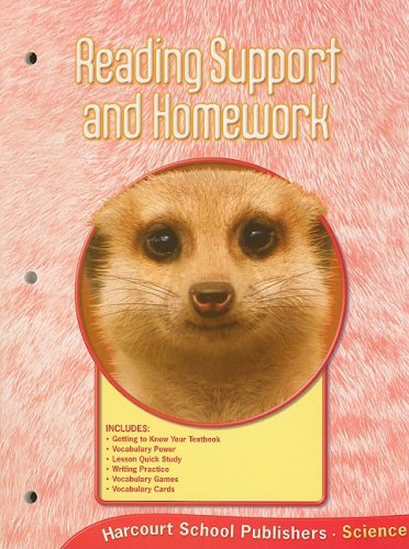 Harcourt Science - National Version: Grade 2: Reading Support and Homework. Student ed