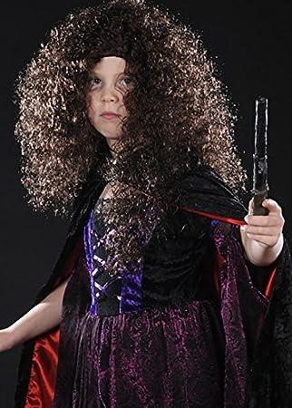 Niños Bellatrix LeStrange estilo peluca rizada