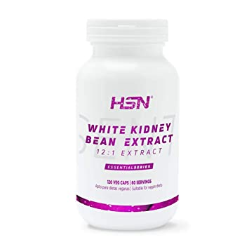 Extracto de Alubia Blanca de HSN   500 mg, Bloqueador de ...