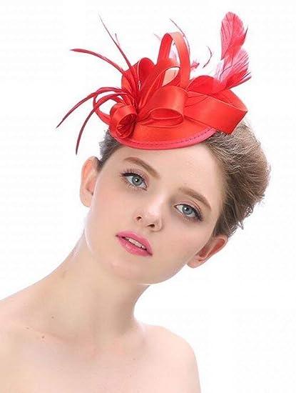 Sombrero - señoras tiara de otoño e invierno tocados hechos a mano de Europa  y América 009acb95264f