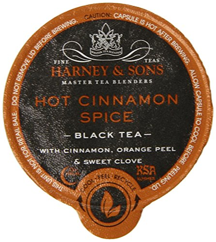 Harney and Sons Hot Cinnamon Spice Tea Capsules, 24 Count (Keurig Orange Spice Tea compare prices)