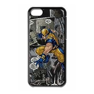 Marvel comic 012 iPhone 5c Cell Phone Case Black TPU Phone Case RV_586412