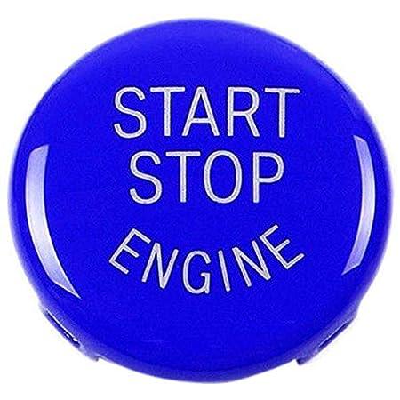 1 3 5 Series E87,E90//E91//E92//E93,E60 SODIAL Start Stop Engine Button Push Button Ignition Switch Cover Replacement for BMW X1 X3 X5 X6 Z4 Red E84, E83, E70, E71, E89
