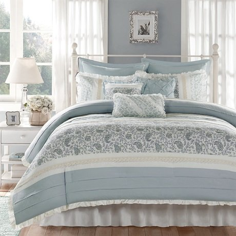 Madison Park Dawn Queen Size Bed Comforter Sets