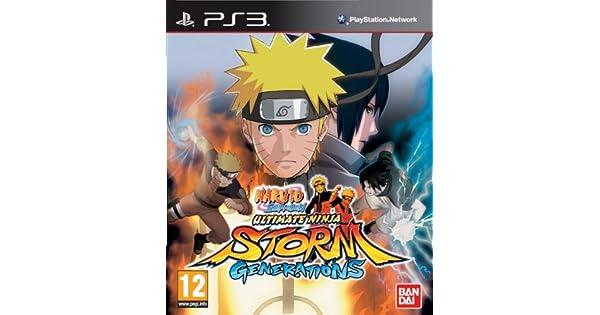 Naruto Shippuden Ultimate Ninja Storm Generations: Amazon.es ...
