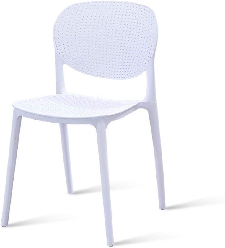 Zplyer Sgabello da Bar di Legno Metallo Sgabello Alto in Cucina E Famiglia Bianco Moderno Minimalista in Plastica Sedia Sedia da Pranzo Sedia da caff/è Cafe