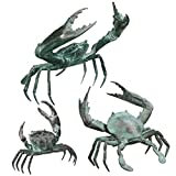 Design Toscano Small, Medium, and Large Crab Statue Set Review