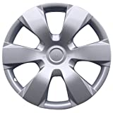 "Drive Accessories KT-1000-16S/L, Toyota Camry, 16"" Silver Replica Wheel Cover, (Set of 4)"