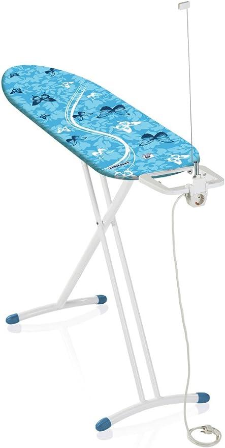 Leifheit AirBoard M Solid Plus Tabla de Planchar, Metal, Azul, 154x8x49 cm: Amazon.es: Hogar