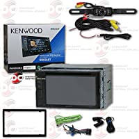 Kenwood DDX24BT 2DIN 6.2 Touchscreen Car DVD CD receiver with Bluetooth and Pandora playback + DCO Back-up Water Proof and Night Vision Camera