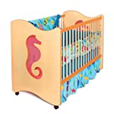 Room Magic 4 Piece Crib Set, Tropical Seas