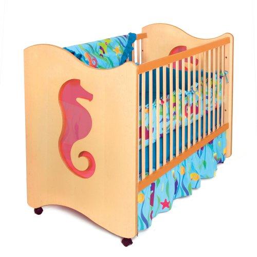 Room Magic 4 Piece Crib Set, Tropical Seas