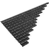 NavePoint 20U Vertical Rack Rail Pair DIY Kit