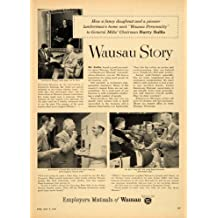 1955 Ad Employers Mutual Insurance Wausau Story Bullis - Original Print Ad