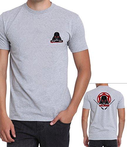 Mens Grey Darth Vader Star Wars Costume Shirt | Dark Side, M