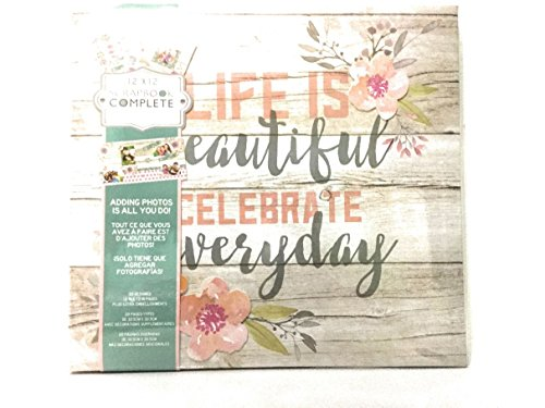 C.R.Gibson Life Is Beautiful Celebrate Everyday Scrapbook Complete ()