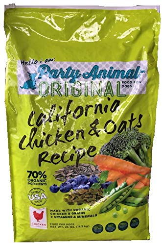 Party Animal California Organic Chicken 25lbs