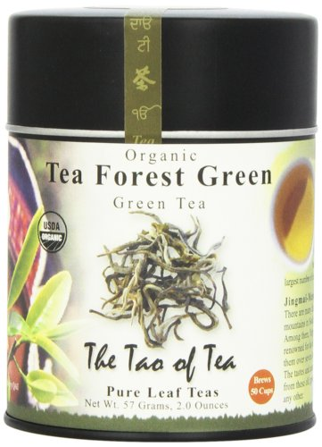 The Tao of Tea, Tea Forest Green Tea, Loose Leaf, 2-Ounce Tins (Pack of 2)