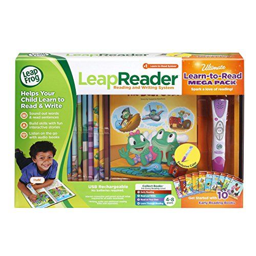 LeapFrog LeapReader System Learn-to-Read 10 Book Mega Pack, Pink by LeapFrog (Image #6)