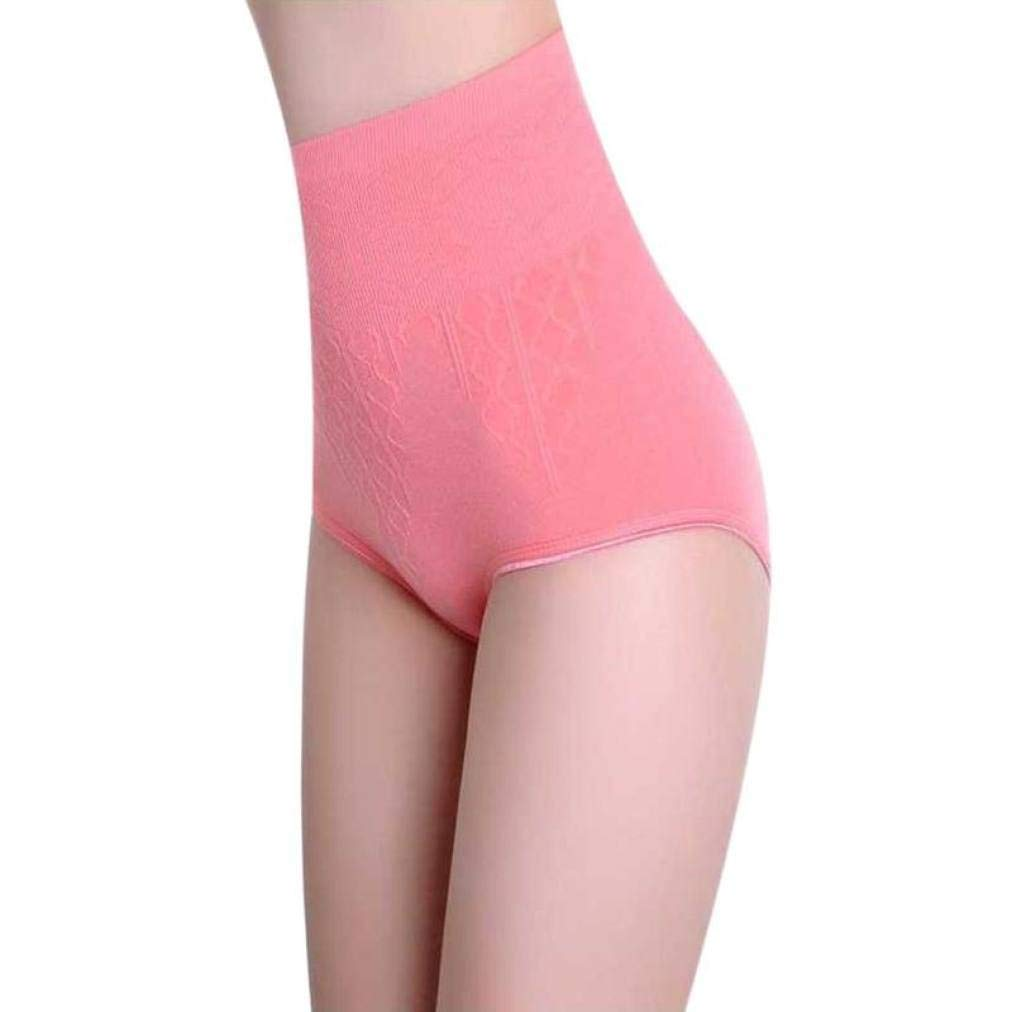 AVENBER Women High Waist Tummy Control Panties Tummy Control Body Shaper Seamless Belly Slimming Breathable Underwear
