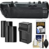Vivitar MB-D18 Pro Series Multi-Power Battery Grip for Nikon D850 DSLR Camera with (2) EN-EL15 Batteries & Charger + Kit