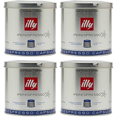 Illy Caffe Lungo Iperespresso 21 Capsules Medium Roast 4 6 Ounce Pack Of 4