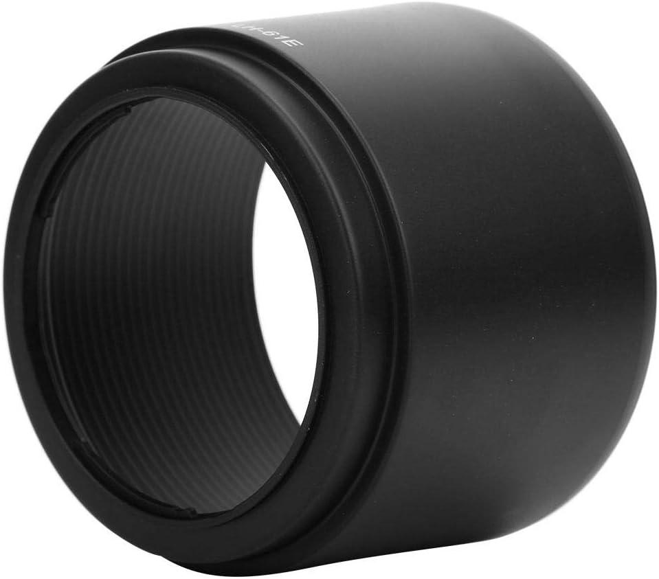 4.8-6.7 Lens LH-61E Black Plastic Lens Hood for Olympus 70-300mm f Serounder Camera Lens Hood