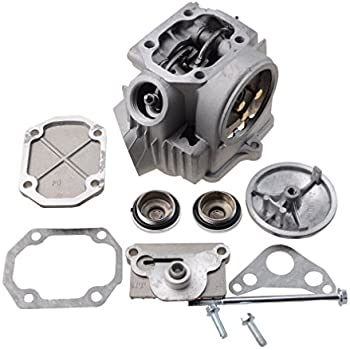Amazon com: Complete Engine Cylinder Head Assembly w/ Valves and