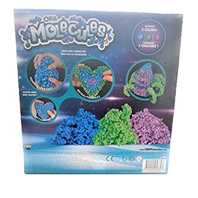 Orbmolecules The Orb Factory Spiderilla Never Dries Compound, Blue/Green/Purple: Toys & Games