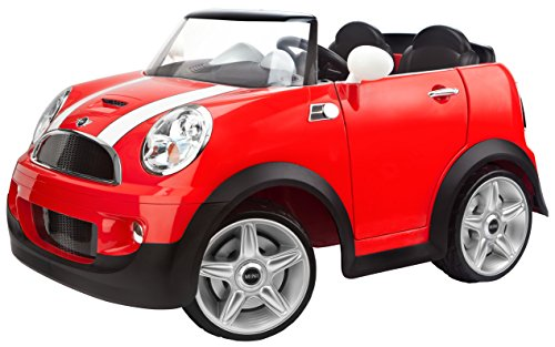 amazoncom kid trax 12v mini cooper ride on red toys games