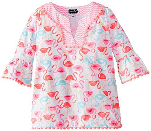 Mud Pie Little Girls' Flamingo Tunic, Multi, 3T