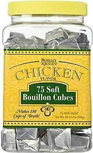 Berkley & Jensen Chicken Flavor 75 Soft Bouillon Cubes (1lb 15.7oz container)