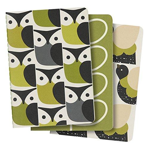 Orla Kiely Set of 3 Mini Notebooks - Orla Kiely Stationery