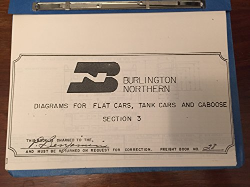 Caboose Burlington Northern - Burlington Northern Diagrams for Cabooses