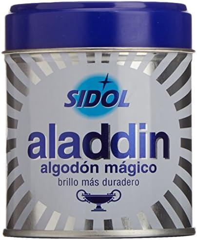 Aladdin - Algodón Limpia Metales, Pack de 3 x 75 g: Amazon.es: Salud y cuidado personal