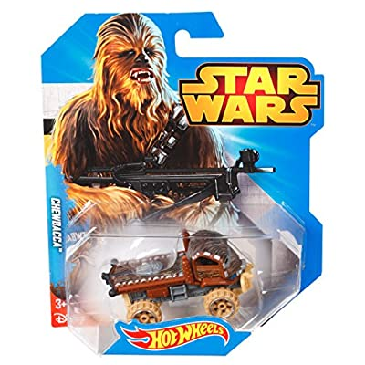 Hot Wheels Star Wars Character Car, Chewbacca: Toys & Games