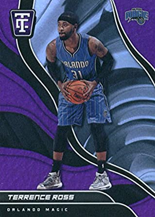 bcd31bf47fa 2017-18 Panini Totally Certified Purple  7 Terrence Ross Orlando Magic  Basketball Card