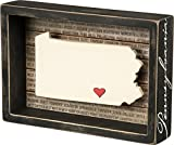 Pennsylvania Box Sign Primitives by Kathy State Wall Decor