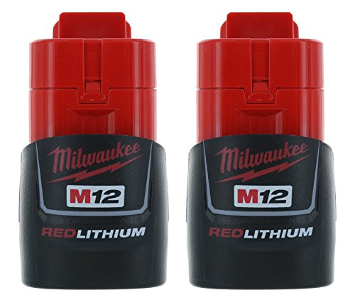 Li Ion Power Wrench - Milwaukee (2-pack) 48-11-2401 M12 RED Li-Ion Battery Packs