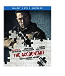 Cover Image for 'The Accountant (Blu-ray + DVD + Digital HD Ultraviolet)'