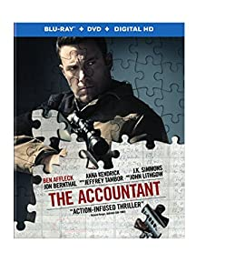 Cover Image for 'The Accountant [Blu-ray + DVD + Digital HD Ultraviolet]'
