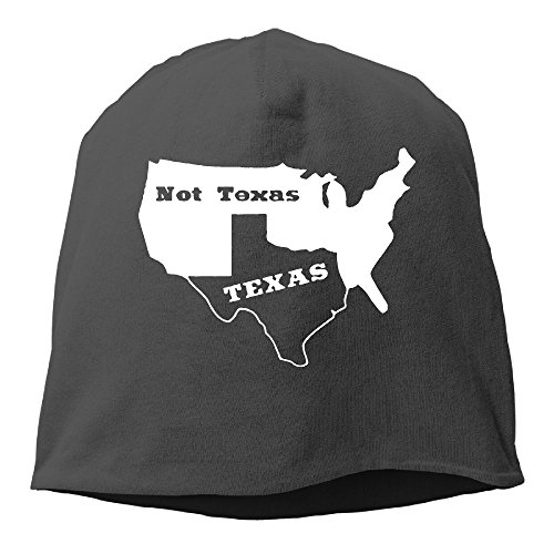 Rrteyr6y Texas Not Texas Secede Austin Dallas Oil Longhorn Winter Fall Graphic Unisex Knit Hats Skull Beanie