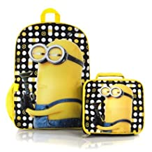 Despicable me 3 Econo Backpack with Lunch Bag Kit