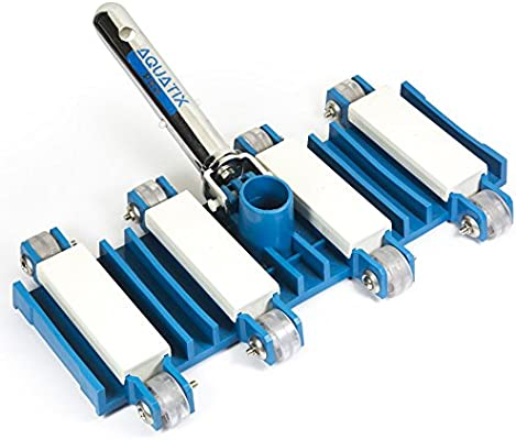 Aquatix Pro Pool Vacuum Head with Wheels, 14\